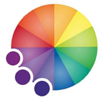 Koło barw - kolory harmonijne